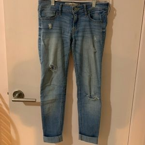 Hollister Super Skinny Jeans, 25w and 29L